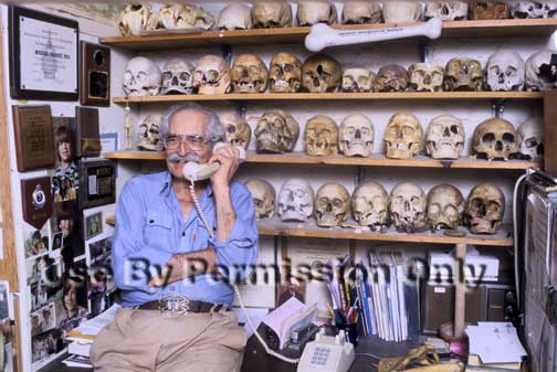 Dr. Charney, our bone detective
