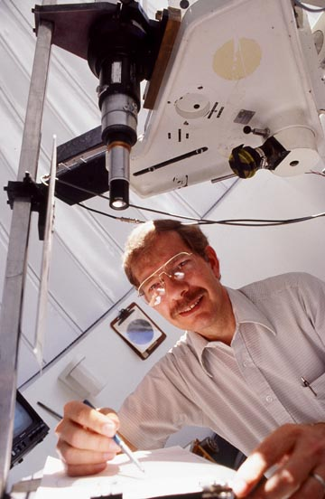 Astronomer in action