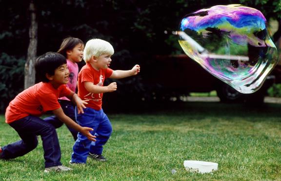Soap Bubble Awe